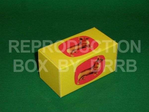 Corgi. Gift Set # 0 Spacer Box (large) - Reproduction Box